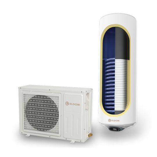 Pompa caldura aer-apa, 2000W, boiler 150 litri + serpentina, Clasa A, Eldom Green Line