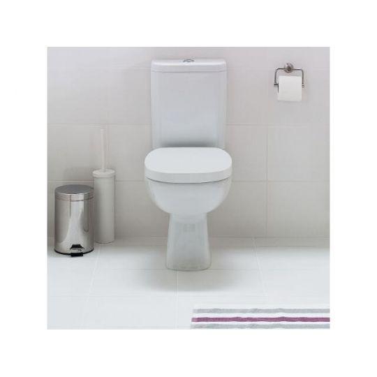 Vas WC compact 319 alimentare inferioara Facile Cersanit (capac cadere lenta inclus)