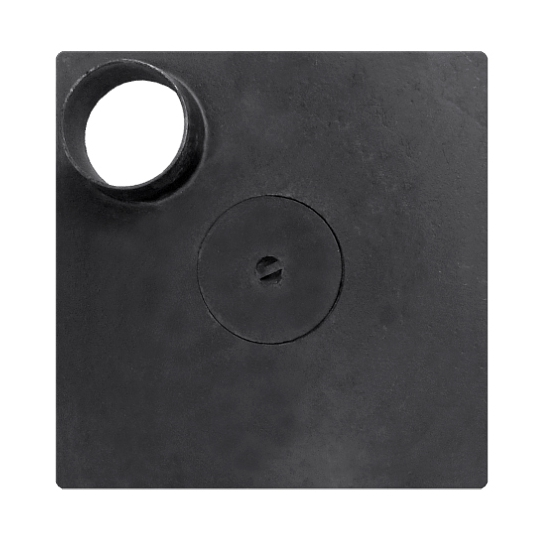 Plita soba fara rama 380x380 mm, cu cos