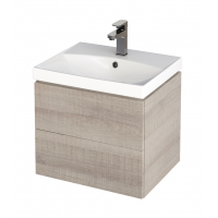 1 x Dulap de baie stejar Cersanit City pentru lavoar CITY / COLOUR / COMO / NATURE / ONTARIO 50 cm Cersanit