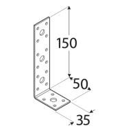Coltar perforat 90 grade Tip 2- 150x50x35x2.5 mm Everpro