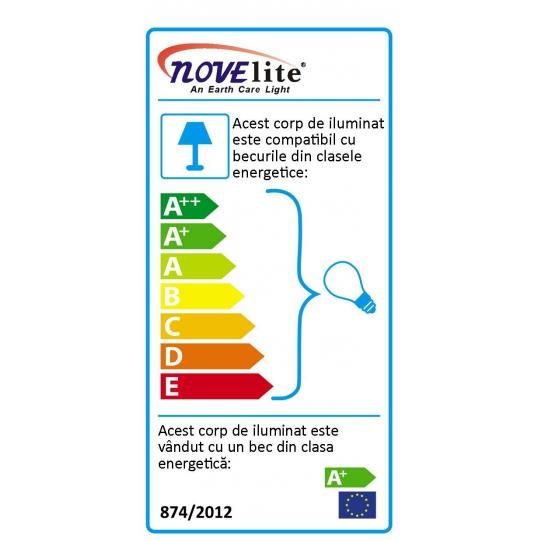 Corp neon cu LED, tip JB 1x18W, 6400 K, Novelite