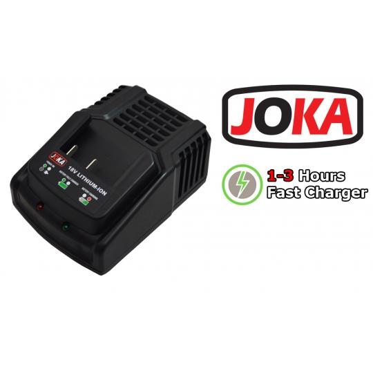 Masina de insurubat cu 1 acumultator 18V Li-Ion, Joka JCD18, set accesorii, incarcare rapida 1 H