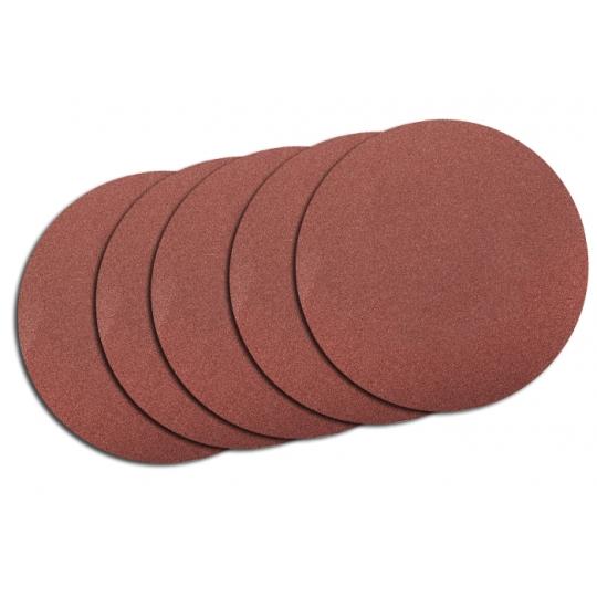 Set 5 Discuri Abrazive Velcro Fara Gauri 115 mm, G40