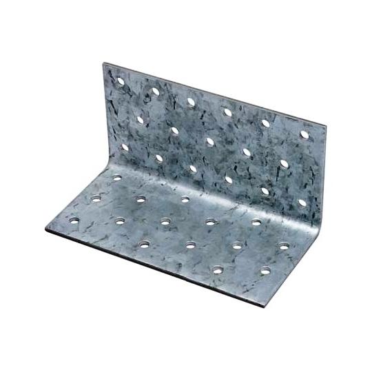 Coltar perforat 90 grade Tip 1- 80x80x60x2.5 mm - 50 buc