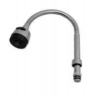 Pipa flexibila D18 mm + perlator 2 functii Cleanmann