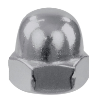 Piulite hexagonale infundate DIN 1587-6, M6, ZA - 16 buc