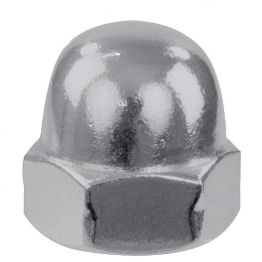 Piulite hexagonale infundate DIN 1587-6, M10, ZA - 6 buc