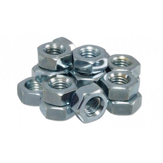 Piulite hexagonale cu filet metric DIN 934-6 M4 - 120 buc