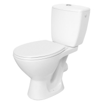 Set compact WC iesire laterala Basic Cleanmann by Cersanit