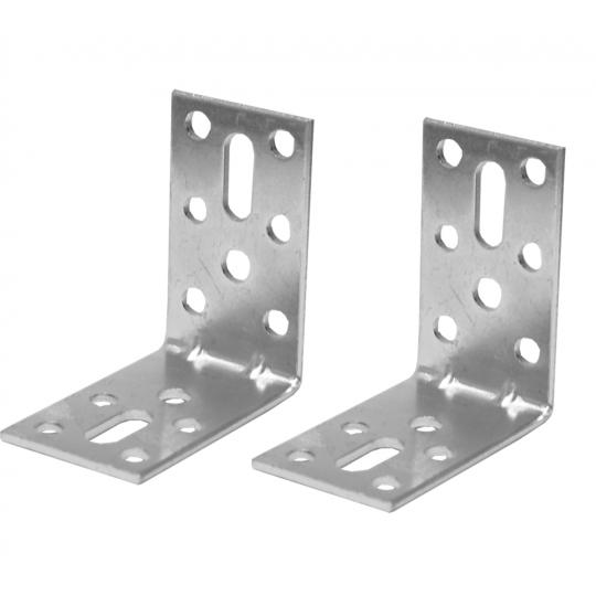 Coltar metalic tip L 50x50x30 mm ZA 2 buc/set Easy-Fix