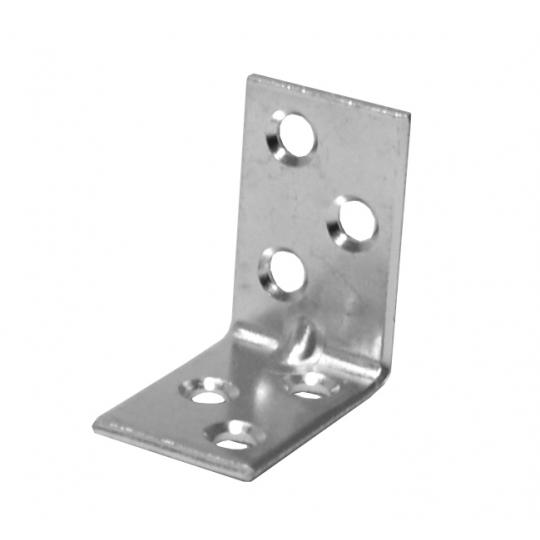 Coltar metalic tip L 30x30x16x2 mm ZA - 100 buc