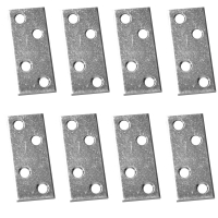 Placuta metalica cu gauri tip I 50x20 mm ZA 8 buc/set Easy-Fix