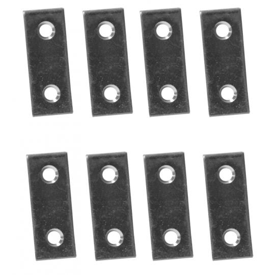 Placuta metalica cu gauri tip I 40x16 mm ZA 8 buc/set Easy-Fix