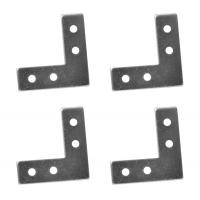 Coltar metalic tip V 50x50x16 mm ZA 4 buc/set Easy-Fix