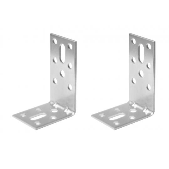 Coltar metalic tip L 40x60x30 mm ZA 2 buc/set Easy-Fix