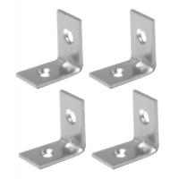 Coltar metalic tip L 25x25x16 mm ZA 4 buc/set Easy-Fix