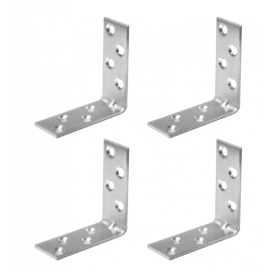 Coltar metalic tip L 50x50x20 mm ZA 4 buc/set Easy-Fix