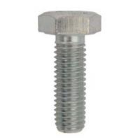 Surub cap hexagonal DIN 933- 5.8 M10x20 ZA - 10 buc