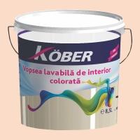 Vopsea lavabila gata colorata Caramel 8.5 l Kober