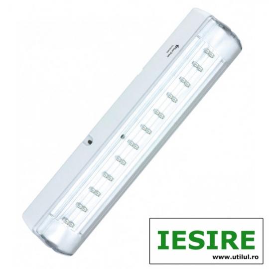 Indicator EXIT cu LED PERMANENT 24x0.1W TG-4105.35024, IESIRE
