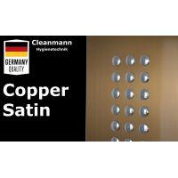 Panou dus hidromasaj inox 4 functii Trendy Copper Satin Cleanmann