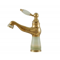 Baterie lavoar Pull Out Jade Gold Cleanmann
