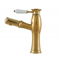 Baterie lavoar Pull Out Trendy Gold Cleanmann