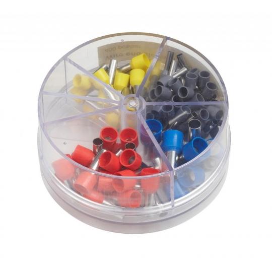 Set 100 conectori cablu diverse marimi 4-16 mmp Meister