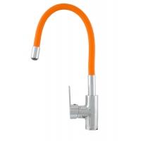 Baterie bucatarie Colour Flex Orange Cleanmann