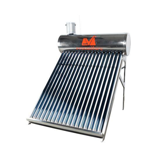 Sistem Panou Solar Inox cu Tuburi Vidate SP-470-58, 202 l, 18 Tuburi, EvoSanitary