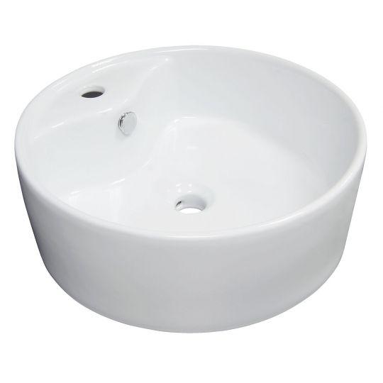 Lavoar pe blat Cornat TOMAR, 45 cm ,alb