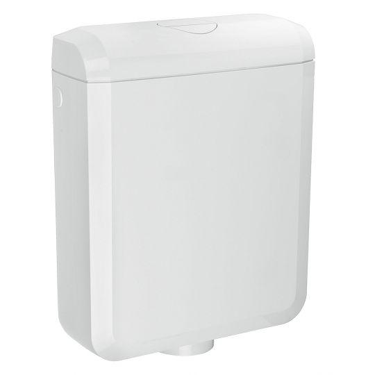 Rezervor WC semi inaltime sau pe vas, anticondens Cornat Leda New 3/6 l alb