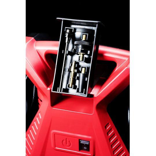 Compresor aer Meister TK1100, 1100W, 8 bar pentru umflat si suflat