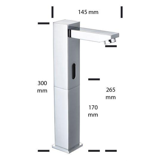 Baterie lavoar senzor Immanuel Tall fara mixer, AC/DC6V Cleanmann