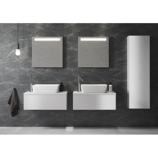 Oglinda baie 60x60 cm cu iluminare LED Metropolitan Opoczno
