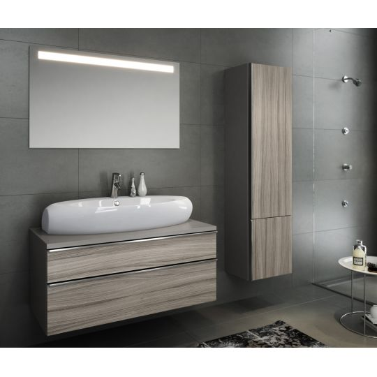 Oglinda baie 100x60 cm cu iluminare LED Metropolitan Opoczno