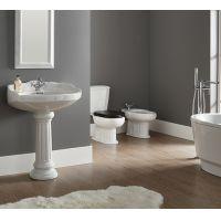 Vas WC compact evacuare laterala Grecia, capac MDF alb , rezervor ceramica Cornat
