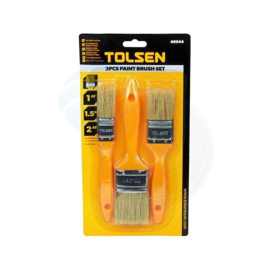 Set 3 pensule pentru vopsit 25,40,50 mm Tolsen
