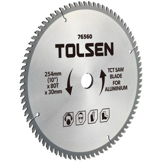 Disc vidia circular 210x30/25.4/16, Z60 aluminiu Tolsen