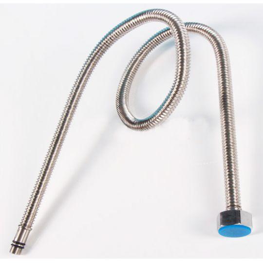 Set 2 racorduri flexibile baterii monocomanda 1/2-60 cm Inox Corugat Cleanmann
