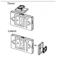 Indicator EXIT cu LED 6x0.3W, permanent NV-4104.7000 Novelite