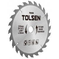 Disc vidia circular 254x30/25.4/20/16, Z40 Tolsen
