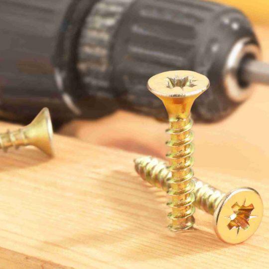 Surub Pal sau lemn cu cap inecat 3.5x40, ZG - 140 buc Connex