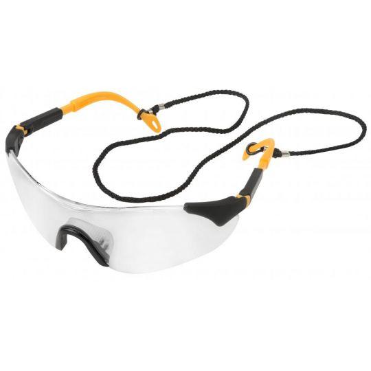 Ochelari de protectie trasparenti ajustabili cu snur Tolsen Industial