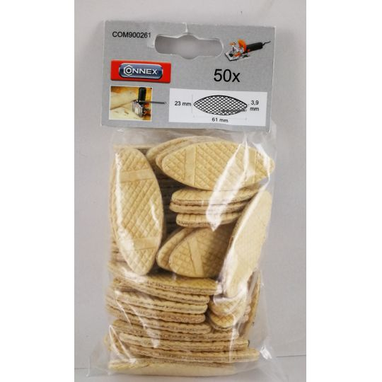 Set 50 dibluri plate 61x23 mm Connex