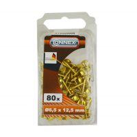 Cuie tapiterie decorative Gold D6.5x12.5 - 80 buc Connex