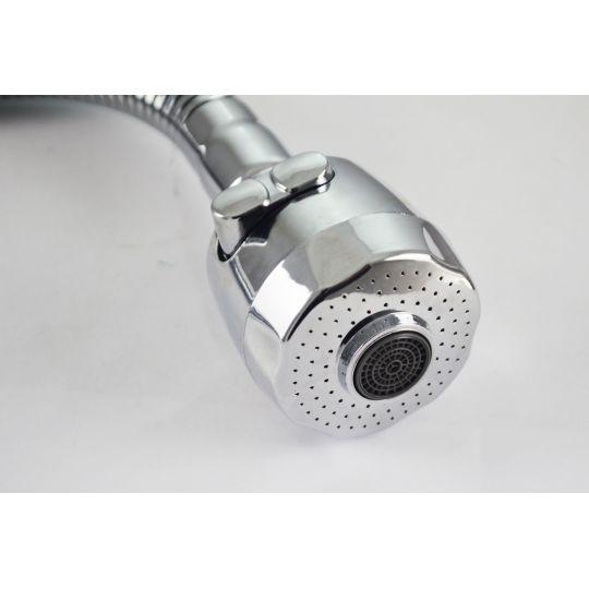 Pipa flexibila D24 mm + perlator 2 functii , tip 2 Cleanmann