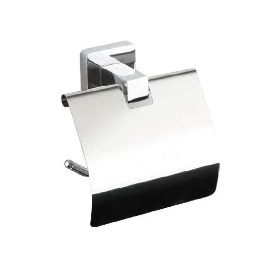 Suport hartie igienica cu aparatoare Quadro Ermetiq