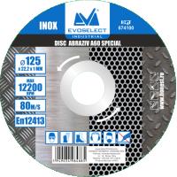 Disc Abraziv Special A60 125 x 1 x 22.2, Evo Industrial